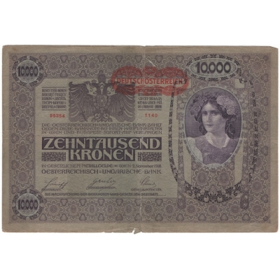10 000 Korun 1918