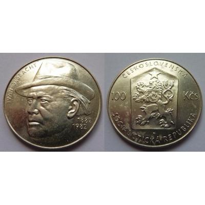 100 korun 1982, 100. výročí narození Ivana Olbrachta