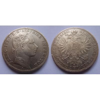 František Josef I. - 1 zlatník 1861