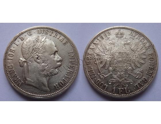 František Josef I. - 1 zlatník 1892