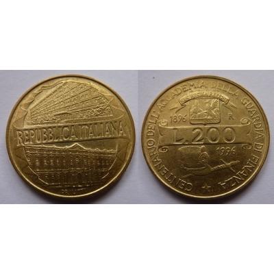 Itálie - 200 lire 1996