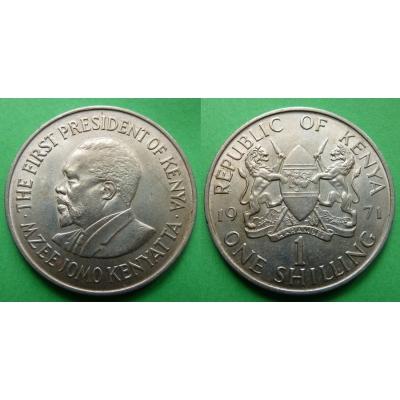 Keňa - 1 shilling 1971
