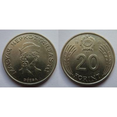 Maďarsko - 20 forint 1985