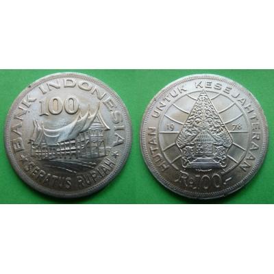Indonésie - 100 rupiah 1978