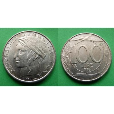 Itálie - 100 lire 1996