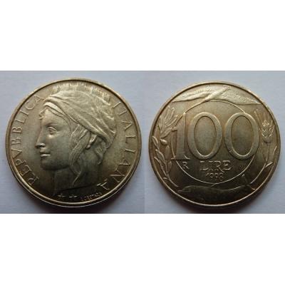 Itálie - 100 lire 1998