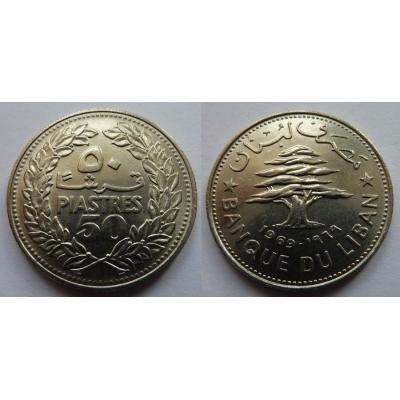 Libanon - 50 piastres 1969