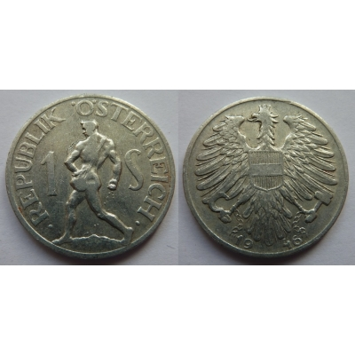 Rakousko - 1 schilling 1946