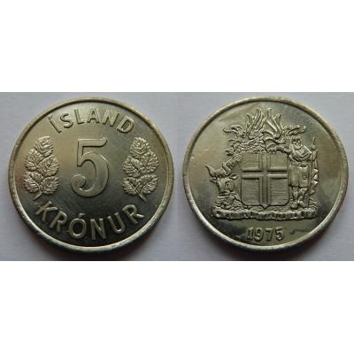 Island - 50 krónur 1975