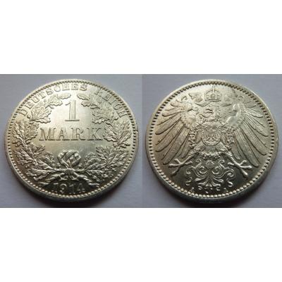 Německo - 1 Mark 1914 A