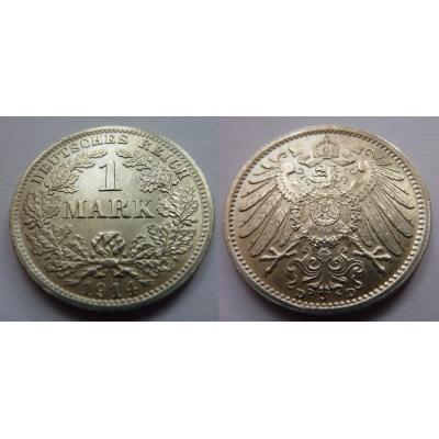 Německo - 1 Mark 1914 D
