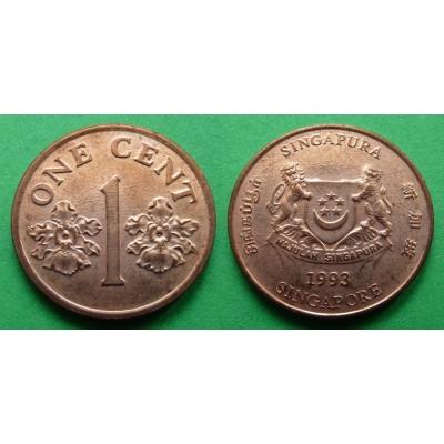 Sngapur - 1 cent 1993