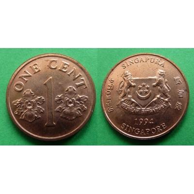 Singapur - 1 cent 1994