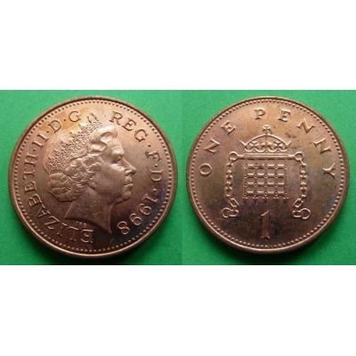 Velká Británie - 1 Penny 1998