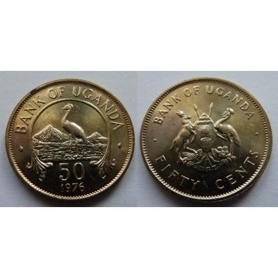 Uganda - 50 Cents 1976