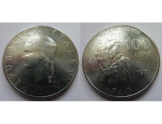 Itálie - 100 lire 1979