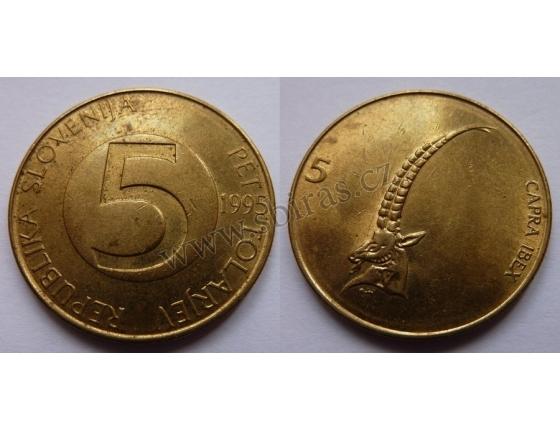 Slovinsko - 5 tolarjev 1995