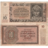 Protectorate of Bohemia and Moravia - note 10 crowns 1942