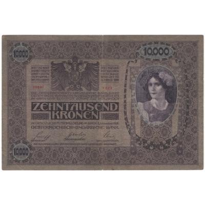 10 000 Korun 1918, I. vydání