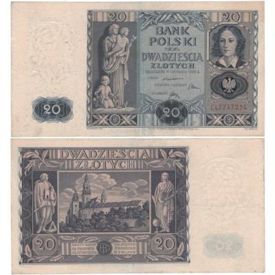 20 Zlotych 1936