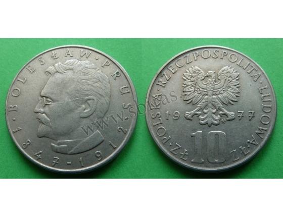 Polsko - 10 zlotych 1977