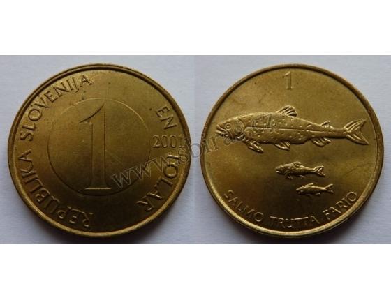 Slovinsko - 1 tolar 2001