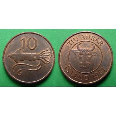 Island - 10 aurar 1981
