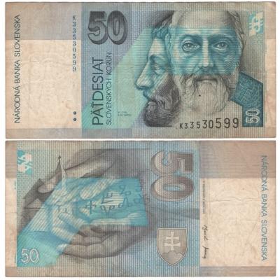 Slovensko - bankovka 50 korun 2002
