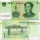 Čína - bankovka 1 yuan 2019 UNC, Mao Tse-tung