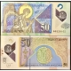 Makedonie - bankovka 50 denárů 2018 UNC