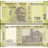 Indie - bankovka 20 rupees 2019 UNC