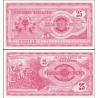 Makedonie - bankovka 25 denárů 1992 UNC