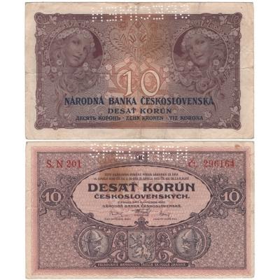 Czechoslovakia - 10 crowns 1927