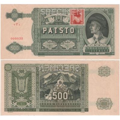 500 korun 1941
