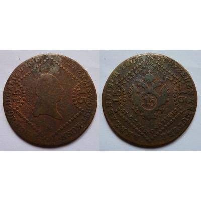 František I. - mince 15 krejcarů 1807 S