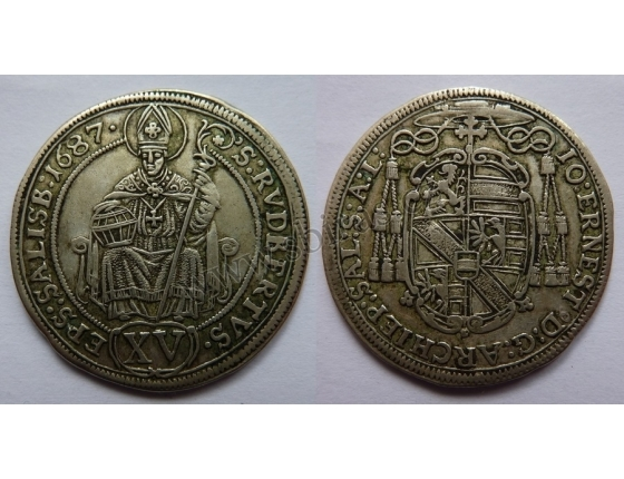 Salzburg - XV krejcar 1687