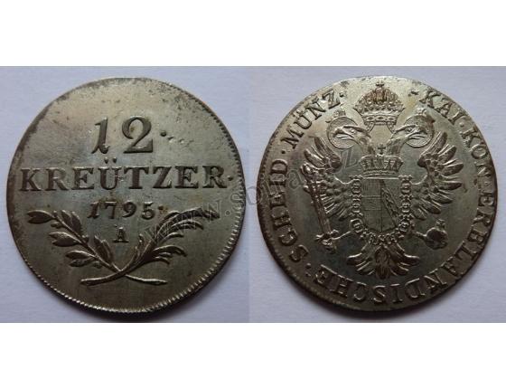 František I. - 12 krejcarů 1795 A