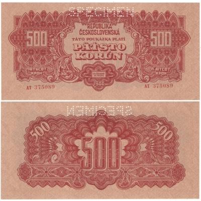 500 korun 1944
