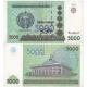 Uzbekistán - bankovka 5000 Sum 2007