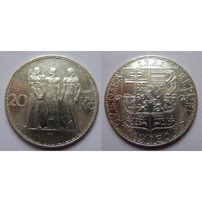20 korun 1933