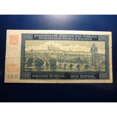 100 korun 1940 S.23A