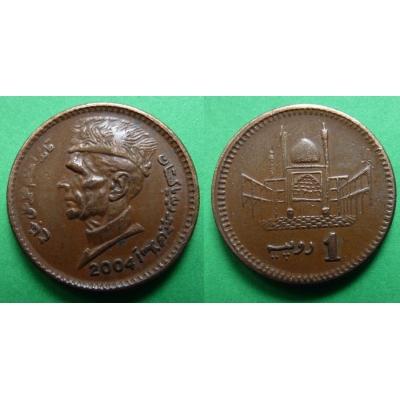 Pákistán - 1 rupie 2004
