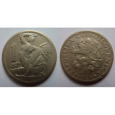 1 Krone 1924