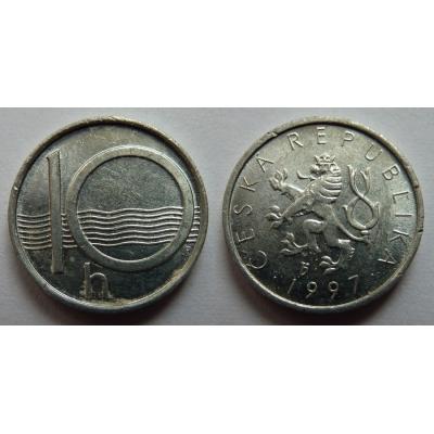 10 haléřů 1997