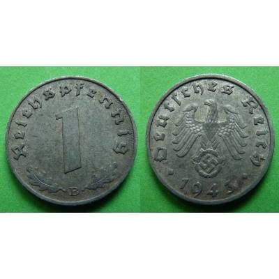 1 Reichspfennig 1943 B