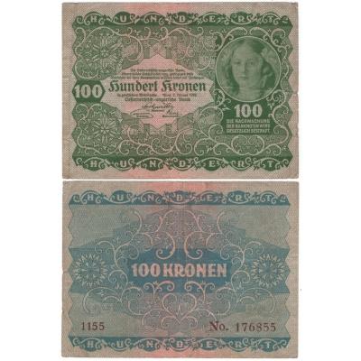 100 Crown 1922