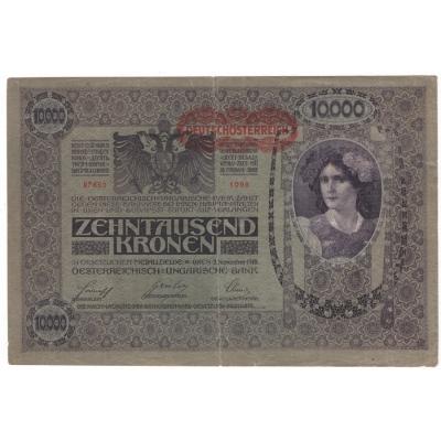 10 000 Kronen 1918