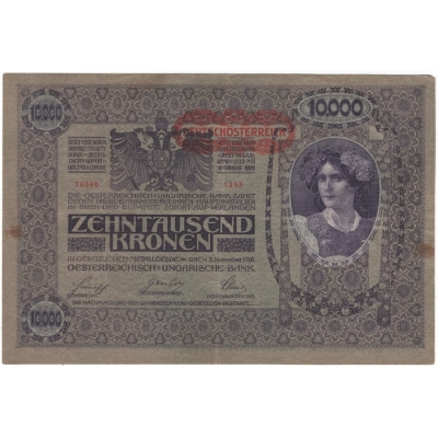 10 000 Crown 1918