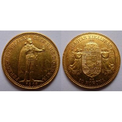 František Josef I. - 10 korun 1906 KB