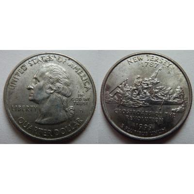 Spojené státy americké - 1/4 dolaru 1999
